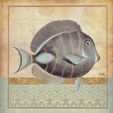 Vintage Fish II Prints by Elizabeth Medley