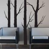 Forest Trees (x4) Adesivo de parede