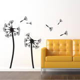 Dandelions, Medium (x2) Wall Decal