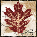 Love Leaf Poster by John Spaeth