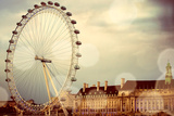 London Eye Poster by Emily Navas