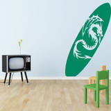 Dragon's Beach Wall Decal