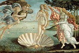 The Birth of Venus, c.1485 Print by Sandro Botticelli