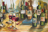 Wine Room Art by Heather A. French-Roussia