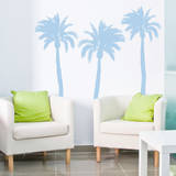 Palm Trees (x3) Wall Decal
