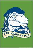 Philosoraptor Posters by  Snorg Tees