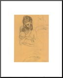 Mother and Child Mounted Print by Pablo Picasso