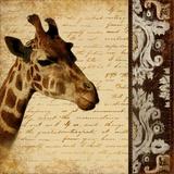 Madagascar Safari I Prints by Patricia Pinto