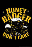 Honey Badger Don&#39;t Care Photo by Snorg Tees 