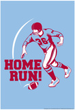 Home Run! Prints by Snorg Tees