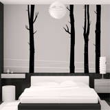 Woodland Trees (x4) Wall Decal