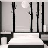 Woodland Trees (x4) Adesivo de parede