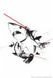 Laser Beams Prints by  Snorg Tees