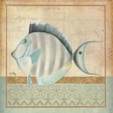 Vintage Fish III Posters by Elizabeth Medley