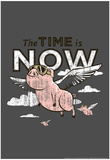 Pigs Flying Poster di  Snorg Tees