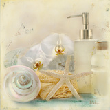 Silver Bath II Kunstdruck von Patricia Pinto