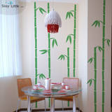 Tall Bamboo (x6) Wall Decal