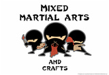 Mixed Martial Arts and Crafts Photo by Snorg Tees