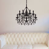 Diamond Chandelier Wall Decal