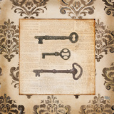 Vintage Keys II Prints by Tiffany Hakimipour