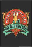 Peter Cotton Ale Affiches par  Snorg Tees