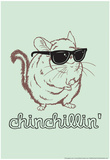 Chinchillin' Stampe di  Snorg Tees