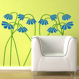 These Aint Mamas Flowers Wall Decal
