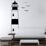 Find Your Way Home Lighthouse Adesivo de parede