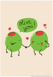 Olive Stampe di  Snorg Tees