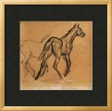 Horses, circa 1882 Framed Giclee Print by Edgar Degas