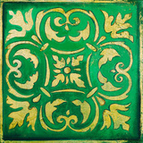 Green Mosaic Prints by Patricia Pinto