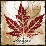 Laugh Leaf Prints by John Spaeth