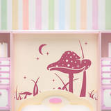 Magic Shroom Wall Decal