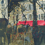 Autumn, Montmartre, Paris Giclee Print by Susan Brown