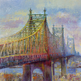 East River Bridge Giclee Print by  Longo