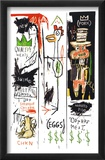 Quality Meats for the Public, 1982 Prints by Jean-Michel Basquiat