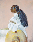 Curls Galore, 1994 Giclee Print by Boscoe Holder