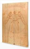 Doctor Who - Weeping Angel Wood Sign Treskilt