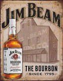 Jim Beam - Still House Placa de lata