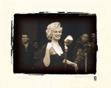 Marilyn Monroe In Korea Giclee Print by  British Pathe