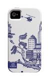 The New Yorker - A view of New York City - iPhone 4/4s Case iPhone 4/4S Case by Pamela Paparone