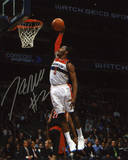 John Wall Washington Wizards vs Toronto Raptors Autographed Photo (Hand Signed Collectable) Photo