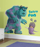 Monsters Inc Giant Sully & Boo Peel & Stick Wall Decals Muursticker