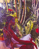 Lisa in Profile, Mid-Nineties Giclee Print by Boscoe Holder