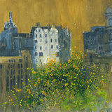 Tenements, Edinburgh Giclee Print by Susan Brown