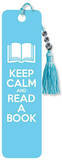 Keep Calm and Read a Book Beaded Bookmark Bookmark