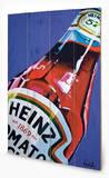 Heinz - Tomato Ketchup Orla Walsh Cartel de madera