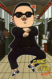 Gangnam Style Psy Animated Prints