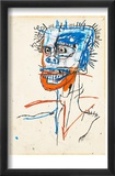 Untitled (Head of Madman), 1982 Affiche par Jean-Michel Basquiat