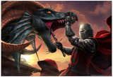 Dragonslayer Láminas por Tom Wood